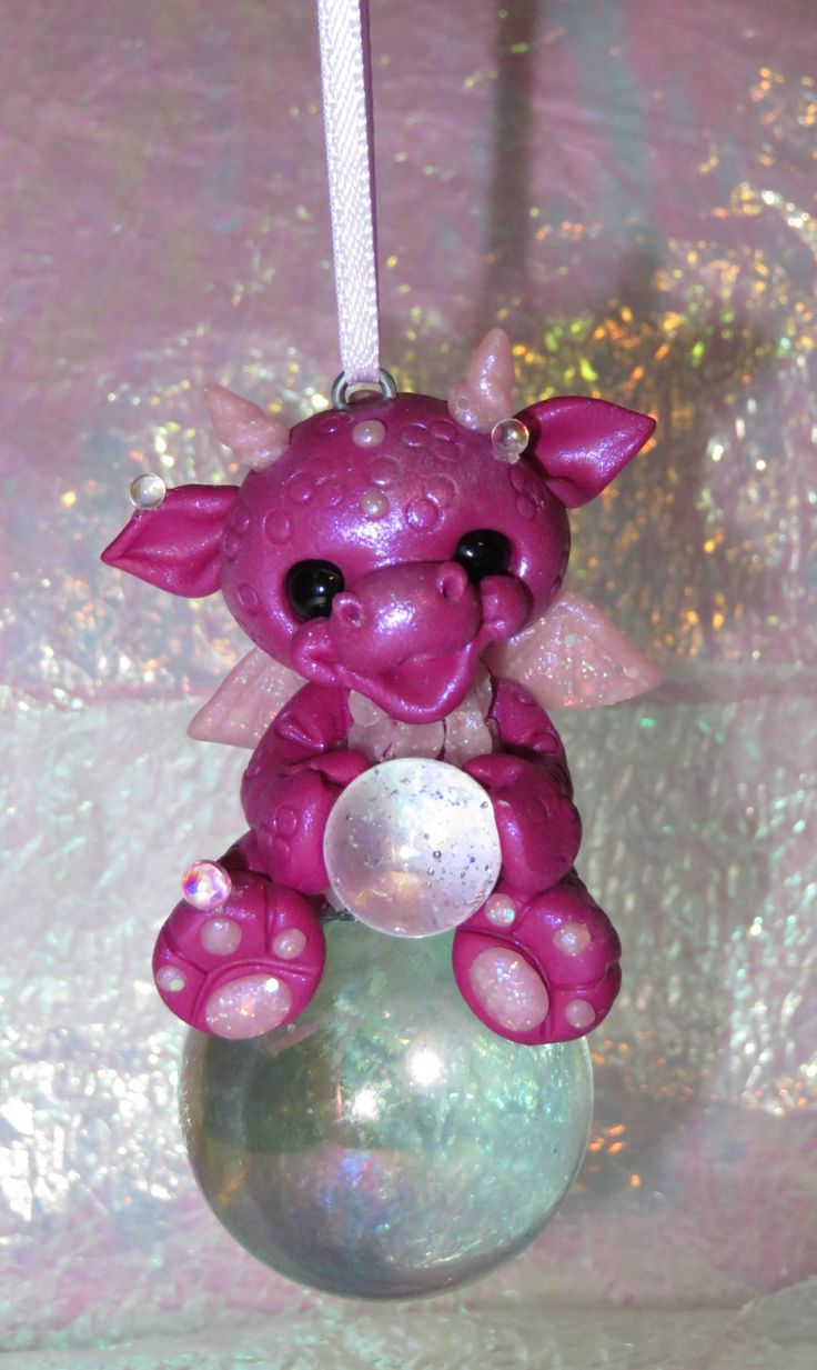 Hanging bubble dragon by jc2177 on Etsy