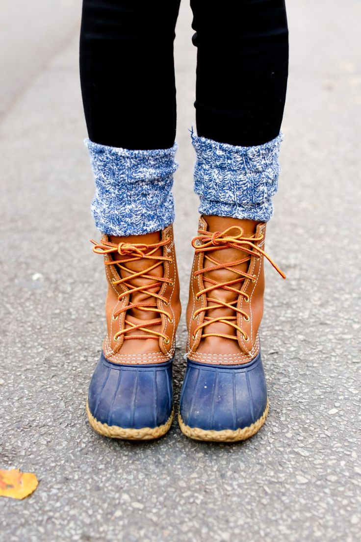 The best boots for winter // L.L. Bean Duck Boots