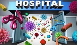 Infecties die in ziekenhuizen worden opgelopen, veroorzaken elk jaar meer sterfgevallen dan het verkeer. Dat zegt het Wetenschappelijk Instituut Volksgezondheid WIV in een nieuw rapport over zorginfecties.