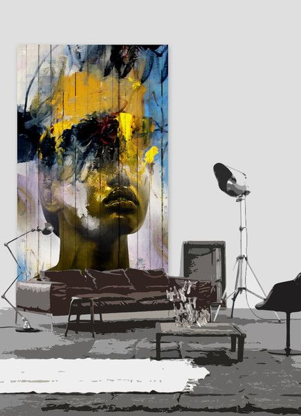 subtly brilliant superimposition art by Antonio Mora (Spain) decor idea: huge print of painterly dream behind sofa • creates surreal dream-like hybrid portraits to inspire, from images found on the Web / blogs / mags • masters in Graphic Design, art director 15 years but replaced interest for own art of painting in his industrial building studio by the beach • off'l: www.mylovt.com • off'l pinterest: www.pinterest.com/amoradiez • off'l fb: http://goo.gl/ceQhYg
