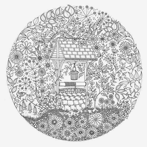 find this pin and more on felntt sznez secret garden colouring pages