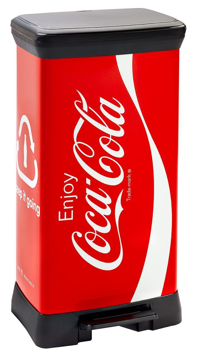 #Curver #CocaCola 50L Deco bin