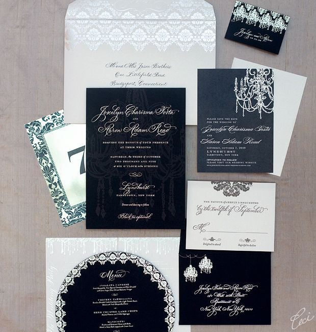 32 best Classic Wedding Invitations images on Pinterest Classic - best of formal invitation salutations