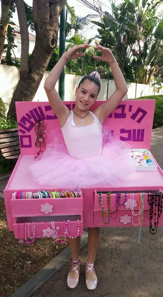 Jewelry Box with dancing ballerina Costume~ very clever idea!  :)