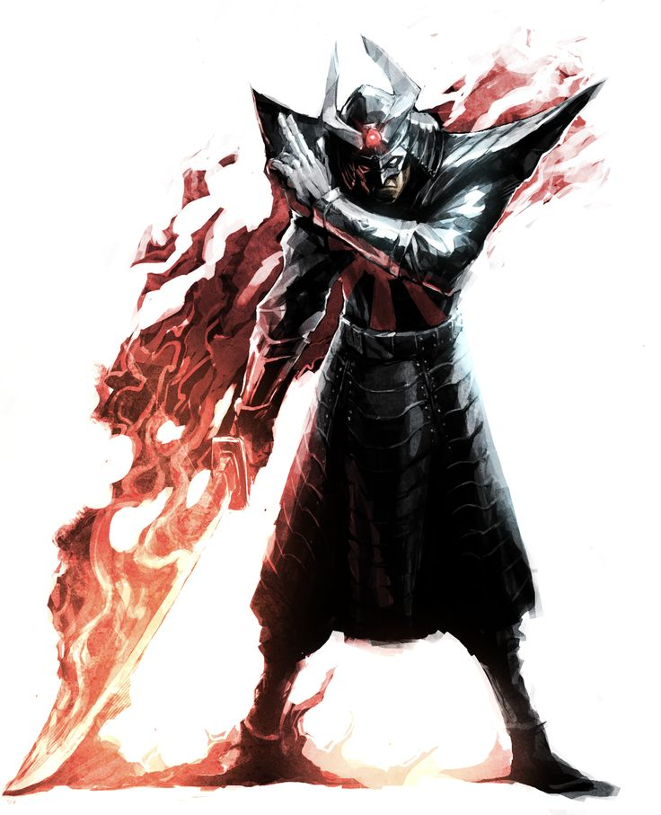 Silver Samurai by Naratani
