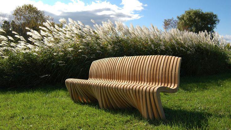 Bank gerade mit Lehne outdoor-design.ch