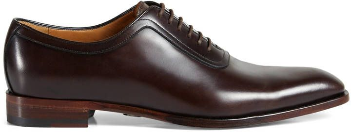 Leather lace-up GUCCI Mens shoes