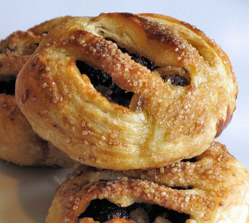 Eccles Cakes    Recepie I used was   http://today.msnbc.msn.com/id/48249822/ns/today-food/t/so-british-try-olympic-eccles-cakes-ice-cream/