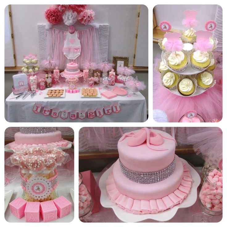 Trendy Baby Shower Themes: A Tutu-Cute Baby Shower!!!