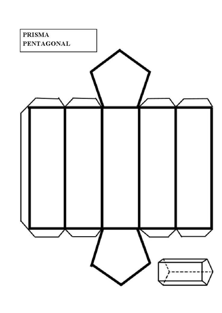 Construir un prisma pentagonal