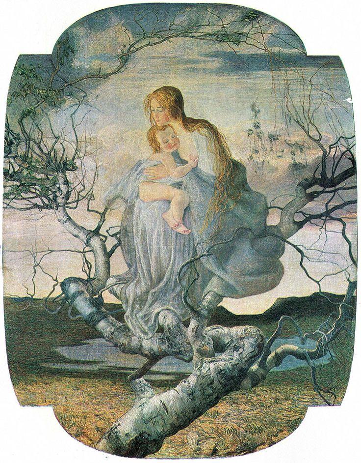 The Angel of Life |Giovanni Segantini