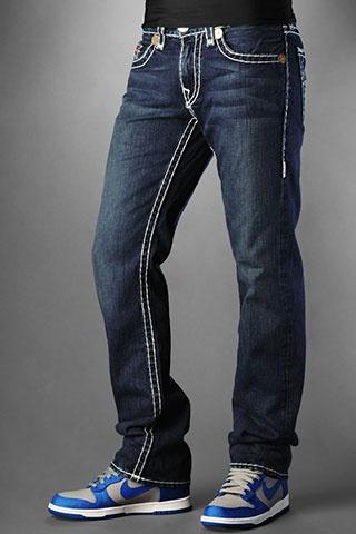 5ed8966cb340e True Religion Jeans Men s Bobby Super T Vigilante Medium No Rips ...