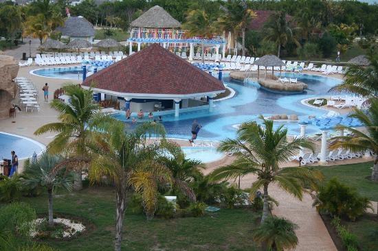 One of the pools at Laguna Azul, Veradero, Cuba
