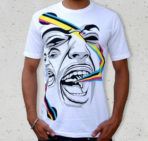 Face T-shirt Art