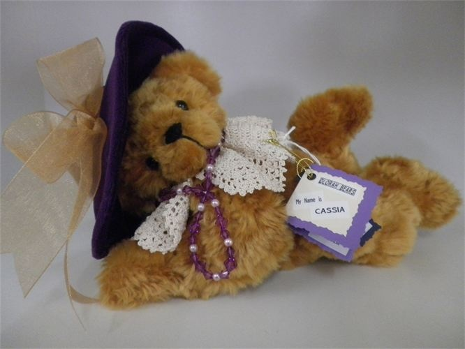EDELWEISS GALLERY - HANDMADE BEARS. Cassia made by Dlorah Bears