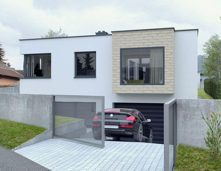 Nízkoenergetický dom v Hainburgu