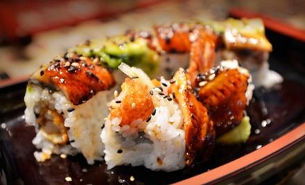 Geisha Sushi (sustainable sushi) in Santa Cruz! awesome tempura rolls seared in cilantro teryiaki:)
