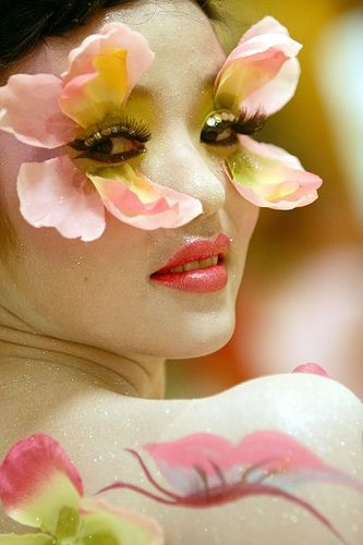 ❀ Flower Maiden Fantasy ❀ beautiful art fashion photography of women and flowers - Flower Eyes