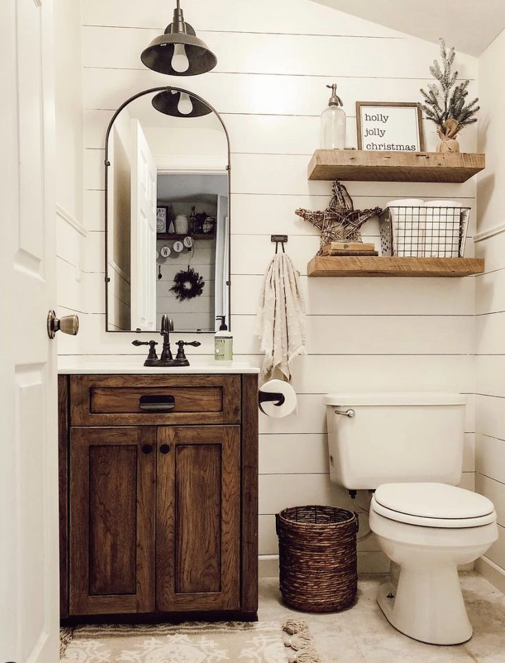Small Bathroom Design Ideas Smallbathroom Rustic Bathroom