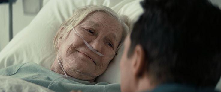 Ellen Burstyn as Dr. Murph Cooper, and Matthew McConaughey as Joseph Cooper [Interstellar, 2014]