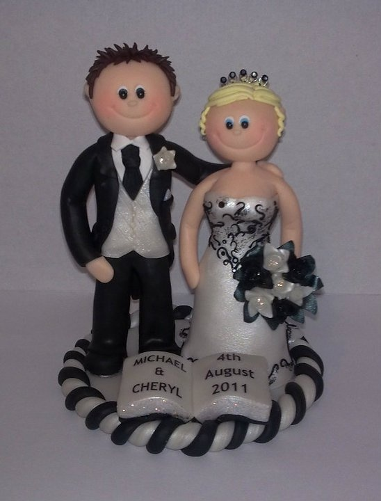My speciality...Wedding Cake Toppers! Lots more to see on my website, www.mcmtoppers.co.uk  RRP £89.99   15% off SALE NOW ON!
