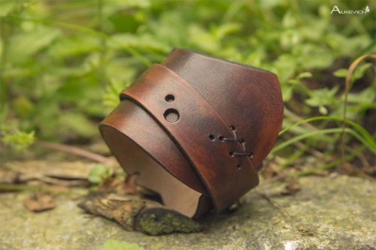 Шкіряний браслет Вікінг_Кнут - Каталог рукоделия #64711