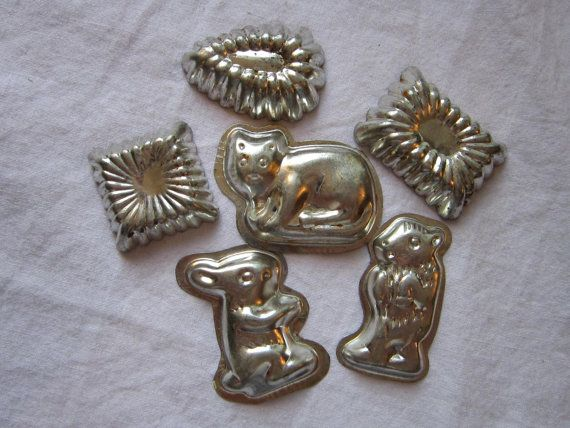 wilton candy molds metal Vintage