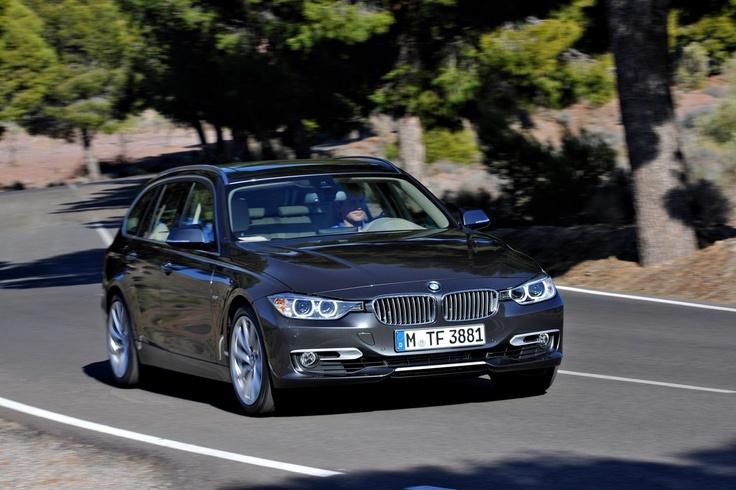 2013 BMW 3 series touring.
