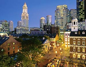 Faneuil Hall, Boston, Massachusetts, USA