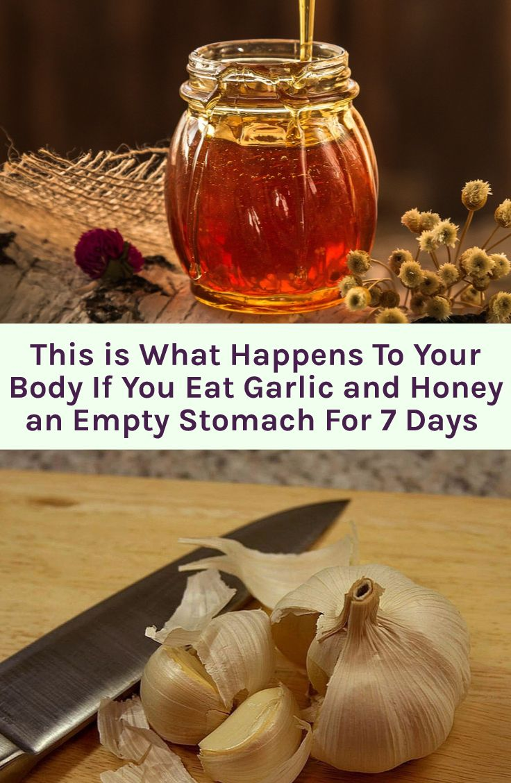 Take your garlic and honey remedy to boost your immune system, and bring your health to an optimal level.