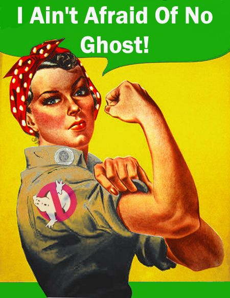 Rosie the Ghostbuster  by ~maldo71  Fan Art / Cartoons & Comics / Digital / Movies & TV