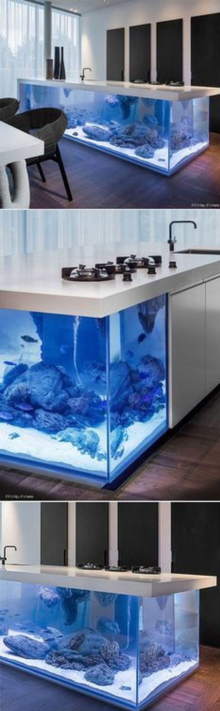 25 best ideas about aquarium design on pinterest fish for Aquarium modern einrichten