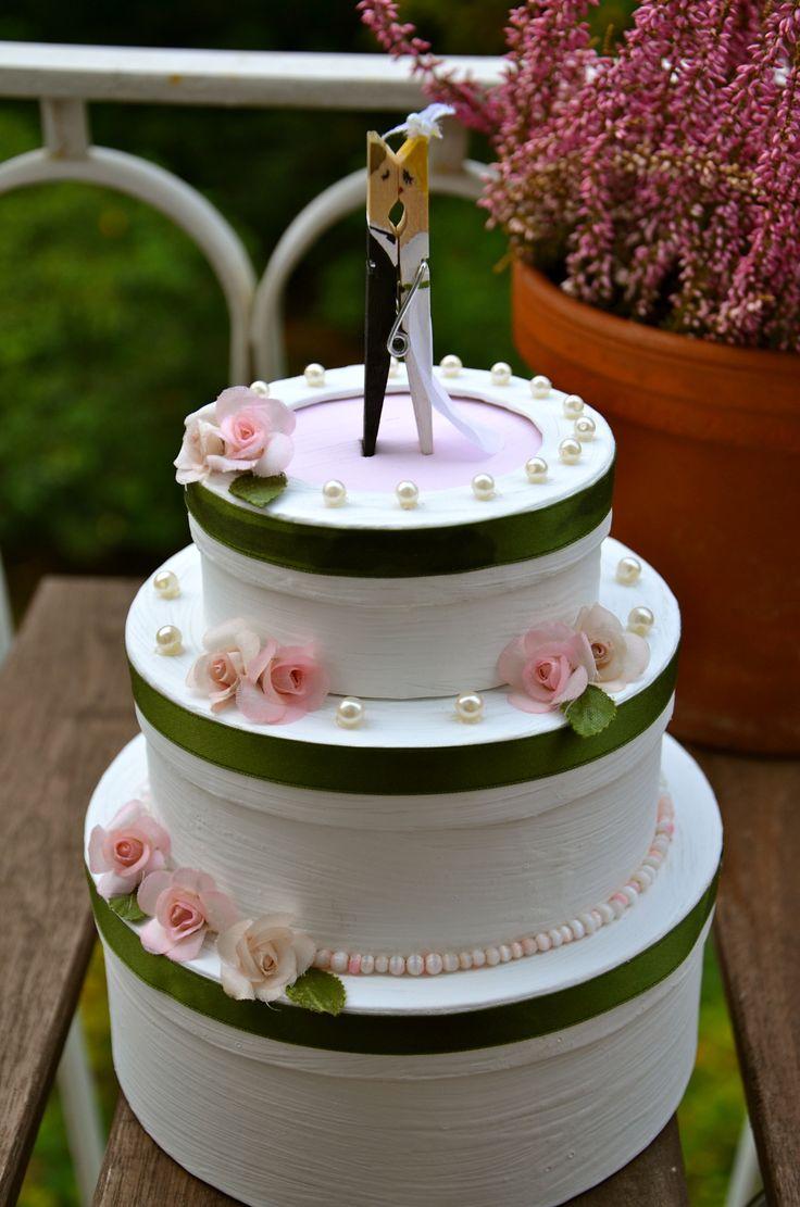 Wedding, Money gift idea - Geldgeschenk zur Hochzeit DIY