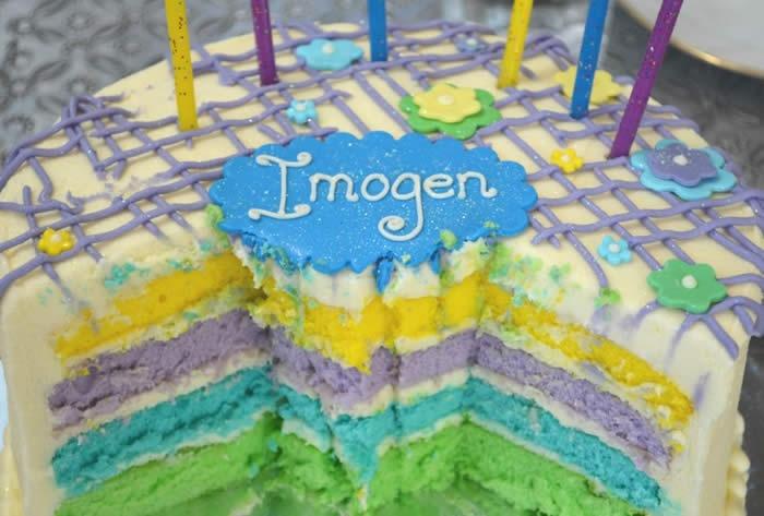 Rainbow Layer Cakes
