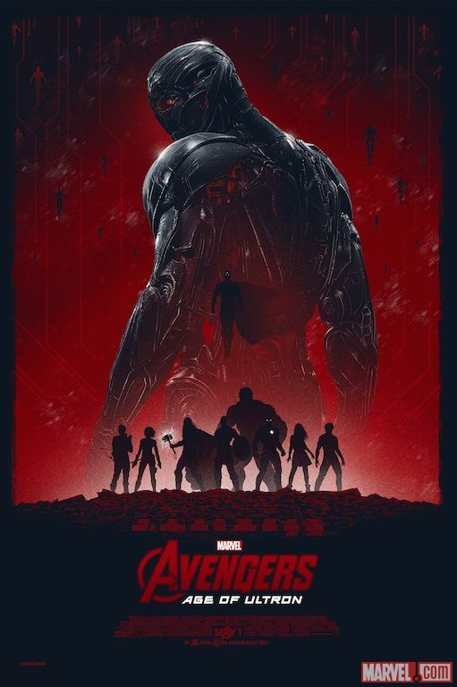 Marvel's 'Avengers: Age of Ultron' artwork by Marko Manev  HERO COMPLEX GALLERY