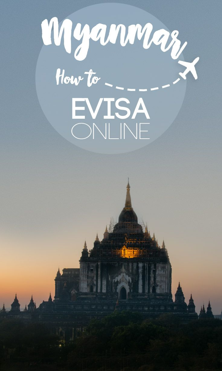 Traveling to Myanmar and want to apply for the Myanmar eVisa online? Everything you need to know about how to get a Myanmar visa online in 2017. We just returned from our first trip to Myanmar in January 2017 and got our visa online and here's how to do it!