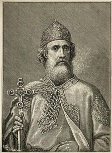 St. Vladimir the Great, Grand Prince of Rus'; 958-1015; 33rd Great Grandfather