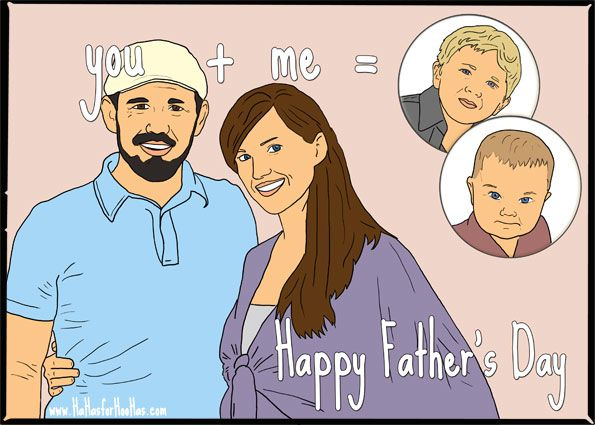 custom fathers day ecards