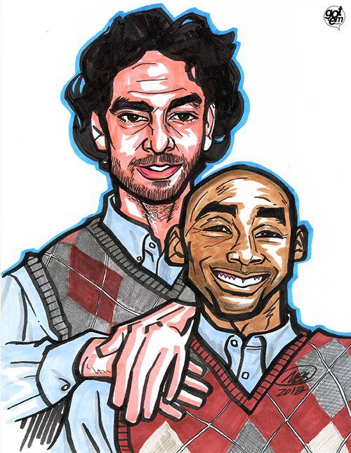 Kobe & Pau: Hermanos Por Pelotas   M. Brian Bowens