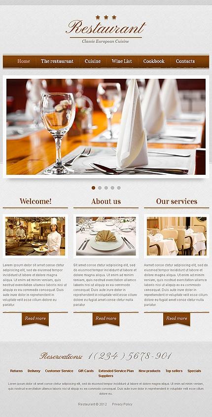 Best Restaurant Web Design Images On Pinterest Restaurant Web