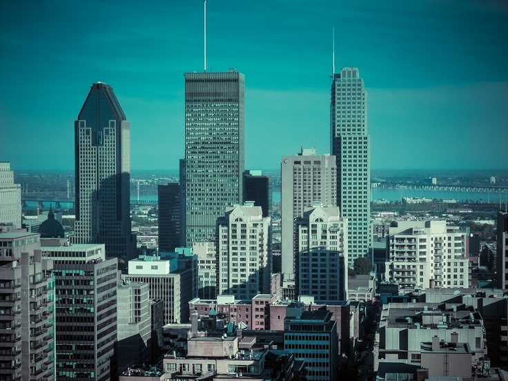 3 Towers, downtown Montreal