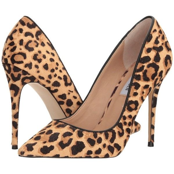 3beb19b41d5 Steve Madden Daisie-L (Leopard) High Heels ($100) ❤ liked on ...