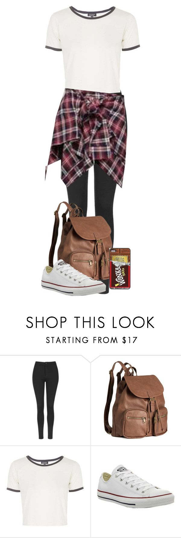"""untitled 38"" by caro3302 ❤ liked on Polyvore featuring Topshop, H&M, Disney, Converse, Cutie Fashion, women's clothing, women's fashion, women, female and woman"