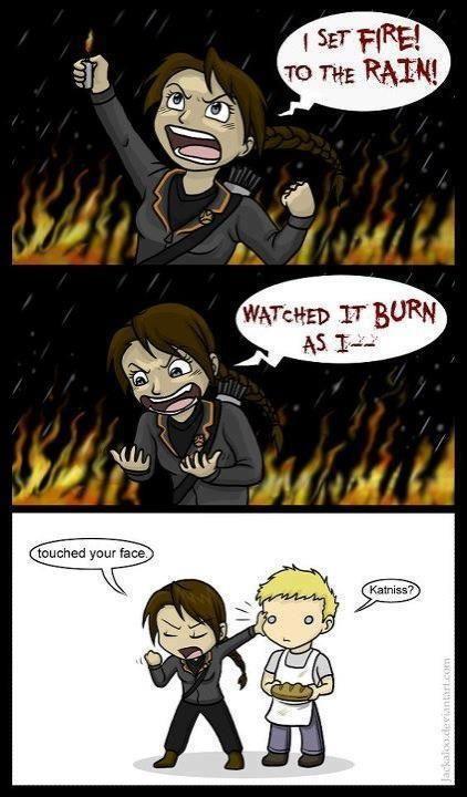 Hunger Games/Adele crossover!