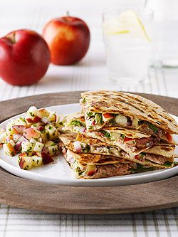 Quesadillas with Ontario Apple Salsa   onapples.com