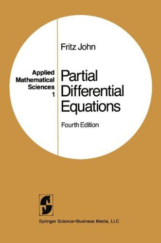 Partial Differential Equations (Applied Mathematical Sciences) (v. 1)