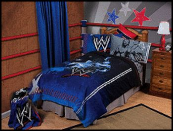 WWE Wrestling Themes | bedding-wwe_bedroom_theme_decorating_ideas-boys_bedrooms_wwe_wrestling ...