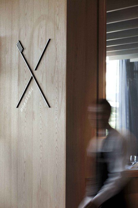 Restaurant and Bar Design Awards_Brasserie + Bar X (Norway), Identity