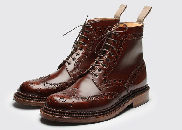 Shoe Porn: Grenson Lace-Up Boots