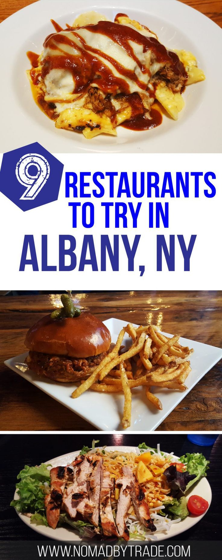 From BBQ to beer halls, Albany, New York has some great restaurants. Check out the Albany dining guide for the best places to eat. #Albany   #NewYork   #Restaurants   #AlbanyFood